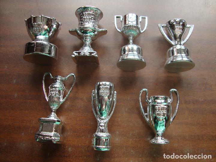 COLECCION DE TROFEOS DEL BARSA (Coleccionismo Deportivo - Medallas, Monedas y Trofeos de Fútbol)