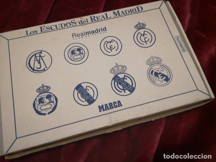ESCUDOS DEL REAL MADRID (Coleccionismo Deportivo - Medallas, Monedas y Trofeos de Fútbol)