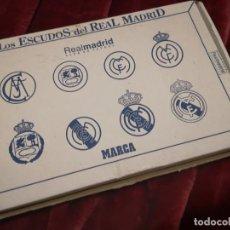Coleccionismo deportivo: ESCUDOS DEL REAL MADRID. Lote 186450588