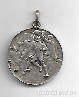 CAMPEONAT ESCOLAR CATALUNYA CATEGORIA P, 2º PREMI 1934-35 (Coleccionismo Deportivo - Medallas, Monedas y Trofeos de Fútbol)