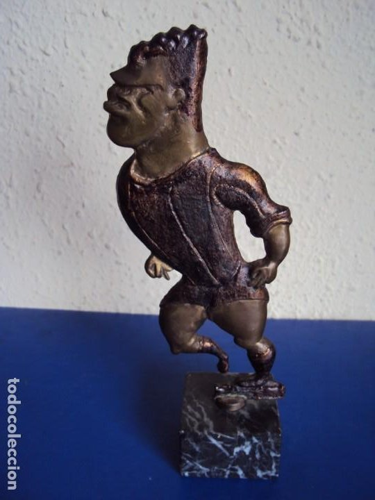 (F-191253)TROFEO LADISLAO KUBALA - PROCEDENTE DEL ARCHIVO SALVADOR SADURNI (Coleccionismo Deportivo - Medallas, Monedas y Trofeos de Fútbol)