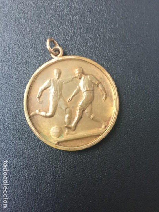FC BARCELONA NACIONAL MONTEVIDEO COPA ALFA ROMEO 1925 SAMITIER HECTOR SCARONE (Coleccionismo Deportivo - Medallas, Monedas y Trofeos de Fútbol)