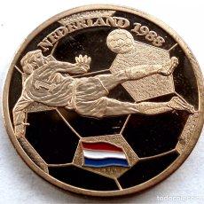 Coleccionismo deportivo: EURO 88 MEDALLA HOLANDA CAMPEÓN. Lote 190635767