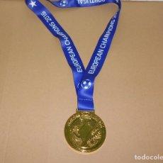 Coleccionismo deportivo: EURO 2016 MEDALLA PORTUGAL CAMPEÓN. Lote 190635898