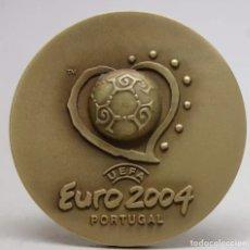 Coleccionismo deportivo: EURO 2004 PORTUGAL MEDALLA BRONCE. Lote 190636321