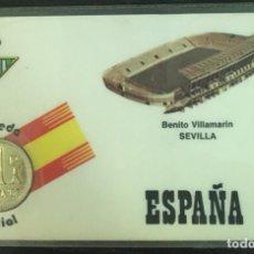Coleccionismo deportivo: REAL BETIS - ESTADIO BENITO VILLAMARÍN SEVILLA - CARNET CONMEMORATIVO MUNDIAL FÚTBOL ESPAÑA 82. Lote 191656328