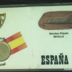 Coleccionismo deportivo: SEVILLA FÚTBOL CLUB - ESTADIO SÁNCHEZ PIZJUÁN - CARNET CONMEMORATIVO MUNDIAL FÚTBOL ESPAÑA 82. Lote 191656396