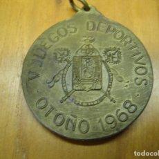Coleccionismo deportivo: ANTIGUA MEDALLA DEPORTIVA. V JUEGOS SINDICALES. SEVILLA 1968. Lote 194155767