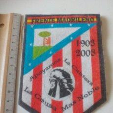 Coleccionismo deportivo: BANDERIN FRENTE MADRILEÑO ATLETICO DE MADRID. Lote 194182773