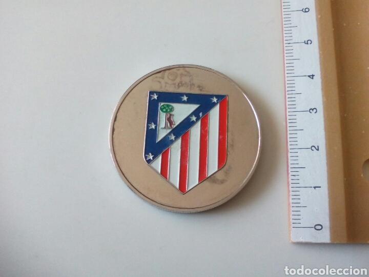 MONEDA ATLÉTICO DE MADRID. ESTADIO VICENTE CALDERÓN (Coleccionismo Deportivo - Medallas, Monedas y Trofeos de Fútbol)