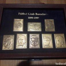 Coleccionismo deportivo: SELLOS CONMEMORATIVO 100 AÑOS FC BARCELONA . Lote 195032411