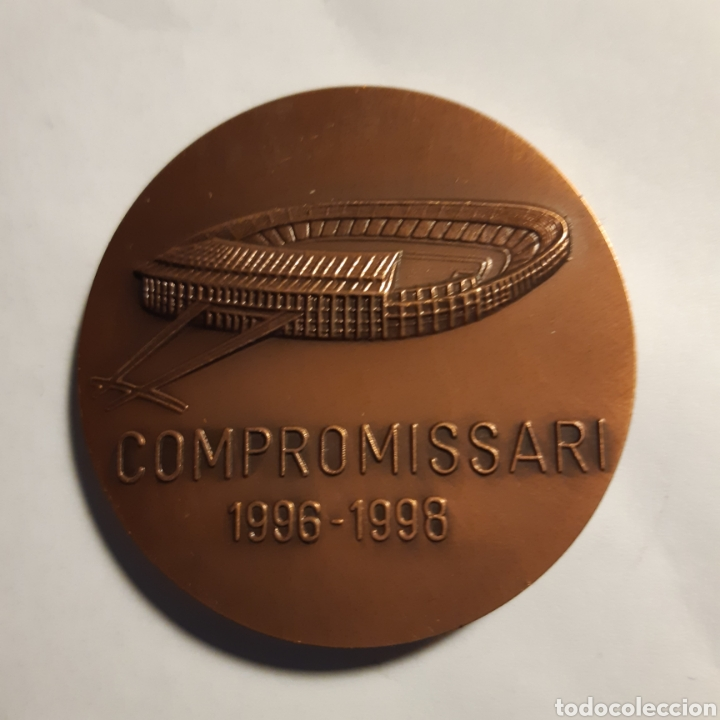 Coleccionismo deportivo: Medalla Bronce Fútbol Club Barcelona - Foto 2 - 195032650