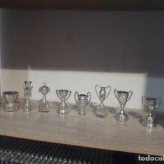 Coleccionismo deportivo: MINIATURA METÁLICA TROFEO LIGA FC BARCELONA. Lote 195033057