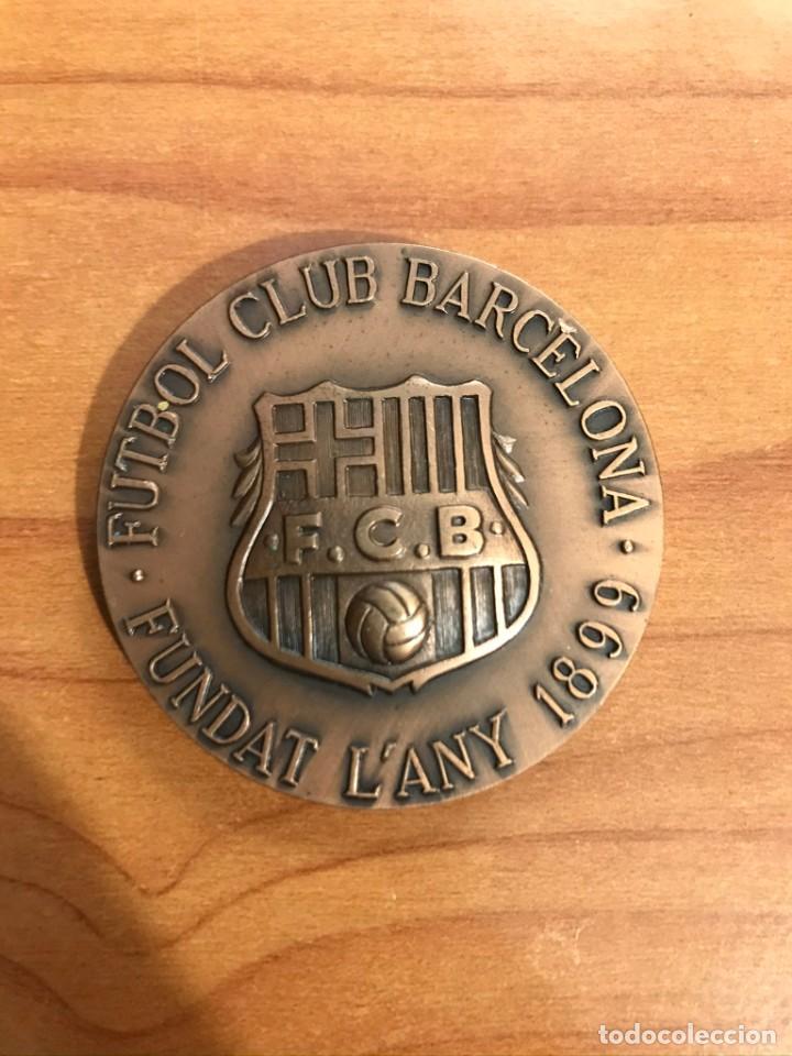 MEDALLA FC BARCELONA 1899 - COMPROMISSARI 1987-1989 (Coleccionismo Deportivo - Medallas, Monedas y Trofeos de Fútbol)