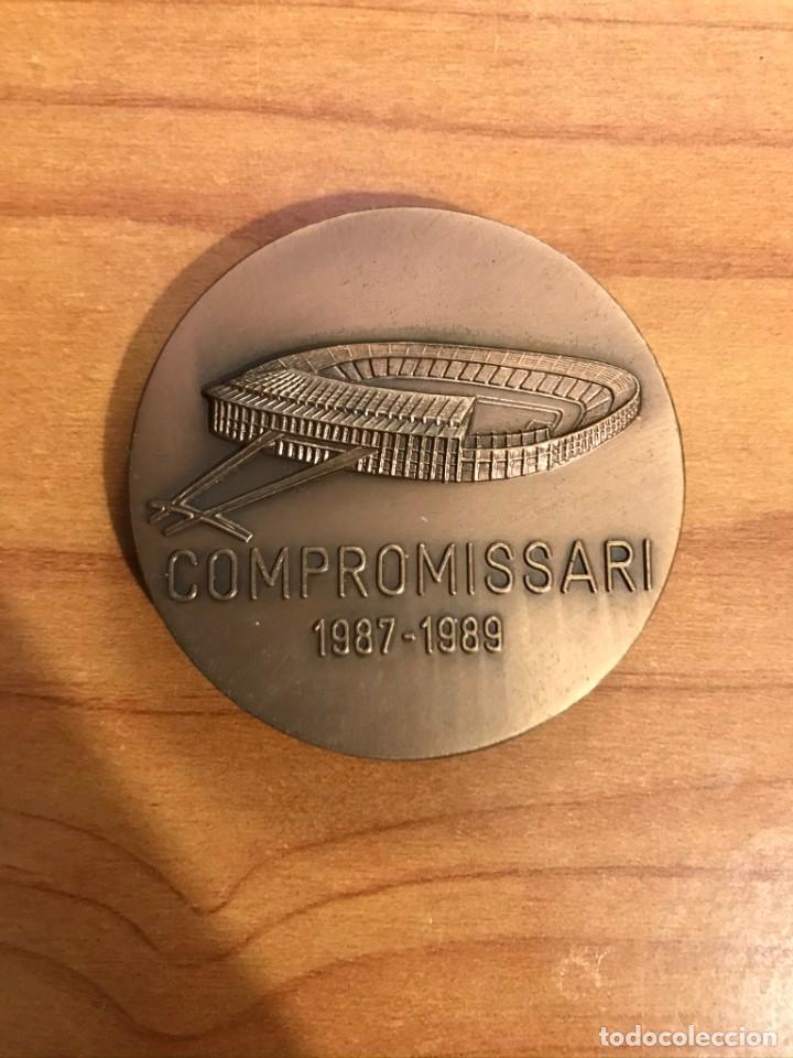 Coleccionismo deportivo: MEDALLA FC BARCELONA 1899 - COMPROMISSARI 1987-1989 - Foto 2 - 195048778
