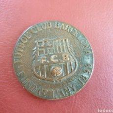 Coleccionismo deportivo: MEDALLA FUTBOL CLUB BARCELONA. INAUGURACIÓ MUSEO 1984.. Lote 195090903