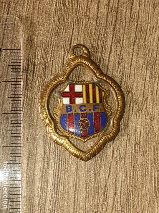 MEDALLA ESMALTADA DEL BARÇA FUTBOL ANTIGUA (Coleccionismo Deportivo - Medallas, Monedas y Trofeos de Fútbol)