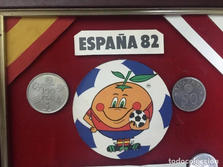 Coleccionismo deportivo: COLLAGE MUNDIAL FUTBOL (NARANJITO) 82 SEDE BILBAO - Foto 2 - 195362642