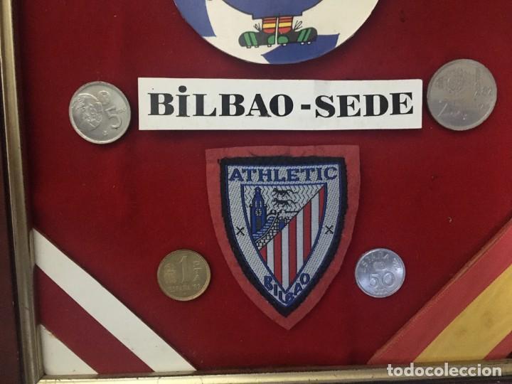 Coleccionismo deportivo: COLLAGE MUNDIAL FUTBOL (NARANJITO) 82 SEDE BILBAO - Foto 3 - 195362642