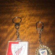 Coleccionismo deportivo: 2 LLAVEROS DEL ATHLETIC CLUB DE BILBAO ... ZKR. Lote 198057520