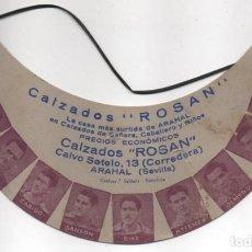 Coleccionismo deportivo: BICERA DEPORTIVA, FUTBOLISTA DEL CLUB CELTA DE VIGO, PUBLICIDAD CALZADOS ROMAN-SEVILLA- VER FOTOS. Lote 199065831