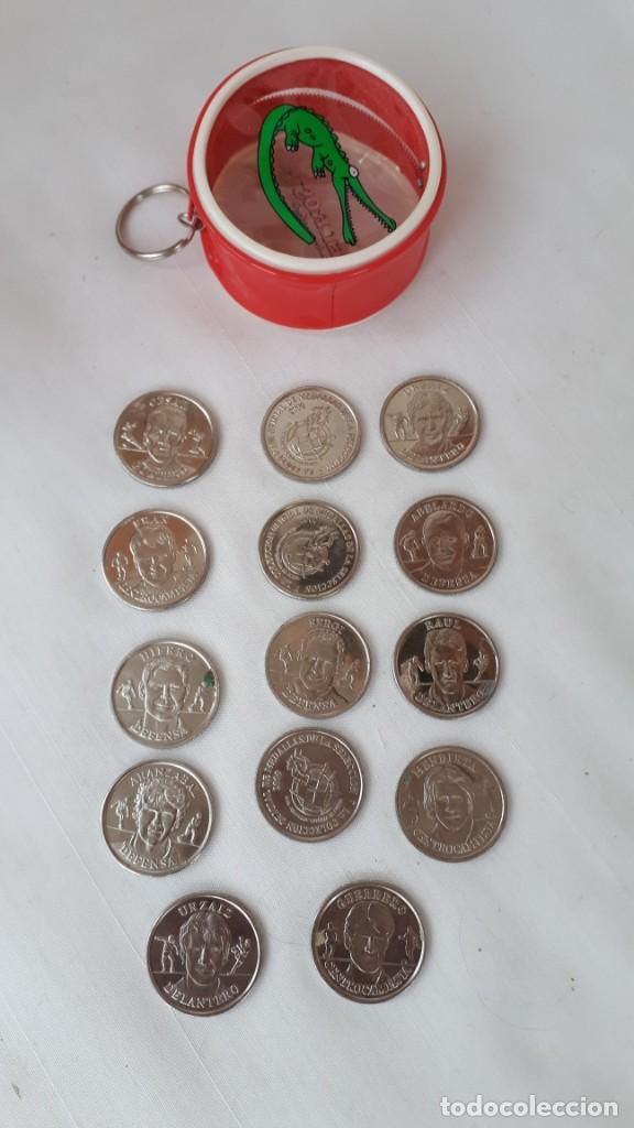 LOTE DE 14 MEDALLAS DE LA SELECCION ESPAÑOLA EUROCOPA 2000 (Coleccionismo Deportivo - Medallas, Monedas y Trofeos de Fútbol)