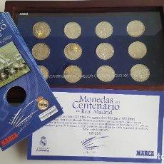 Coleccionismo deportivo: MONEDAS DEL CENTENARIO DEL REAL MADRID. Lote 201240166