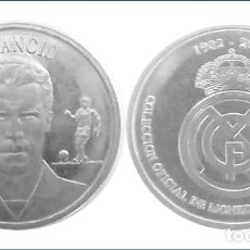 Coleccionismo deportivo: MONEDA AMANCIO, COLECCION OFICIAL MONEDAS REAL MADRID. Lote 204530775