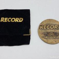 Coleccionismo deportivo: MEDALLA RECORD BARCELONA 92. Lote 204997345