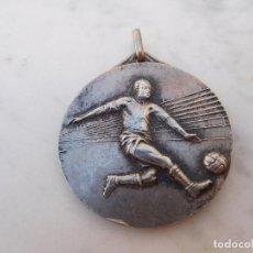 Coleccionismo deportivo: MEDALLA ANTIGUA DE PLATA FÚTBOL ITALIA CAMPEONATO 1959 1960. Lote 207532586