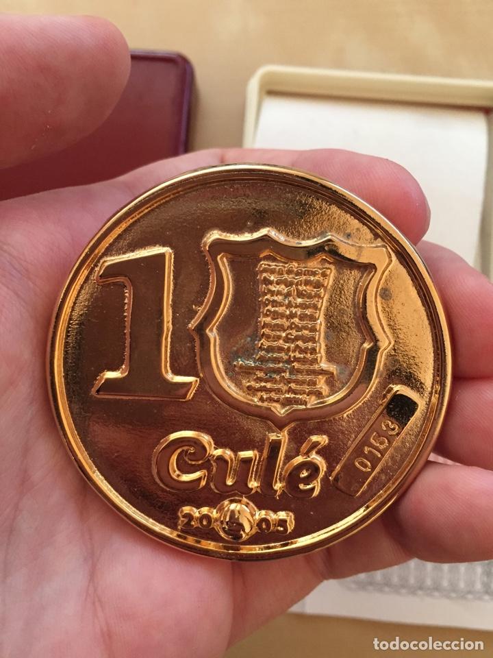 Coleccionismo deportivo: Moneda Gamper con certificado de garantía - Barcelona Força Barça FC - Joan Futbol football numerada - Foto 3 - 207711100