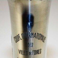 Coleccionismo deportivo: COPA DE FERIAS. COUPE INTERNATIONAL DES VILLES DE FOIRES. TROFEO NOEL BEARD. 1971. Lote 209630201