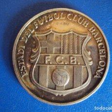 Coleccionismo deportivo: (F-200720)MEDALLA PLATA, INAGURACIÓ CAMPIONAT MUNDIAL DE FÚTBOL, ESTADI DE F.C. BARCELONA, 1982. Lote 210649403