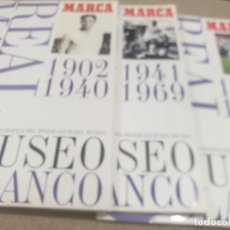 Collectionnisme sportif: MUSEO BLANCO ....REAL MADRID....TRES ALBUMES .....INCOMPLETOS ...1999..... Lote 214363718