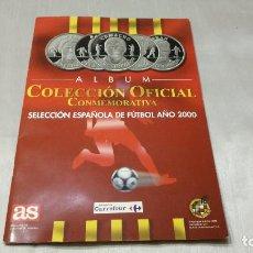 Coleccionismo deportivo: COLECCIÓN OFICIAL CONEMORATIVA DELECCIÓN ESPAÑOLA DE FUTBOL AÑO 2000. Lote 216919270