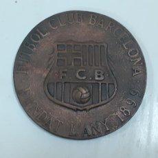 Coleccionismo deportivo: FUTBOL CLUB BARCELONA FUNDAT L' ANY 1899 INAGURACIO MUSEU (2810). Lote 218488128