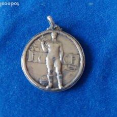 Coleccionismo deportivo: T-320.- MEDALLA DE PLATA- FEDERACION CATALANA CLUBS FOOT-BALL , 1917-18, 1ª CATEGORIA , 4 EQUI. 2º P. Lote 220870035