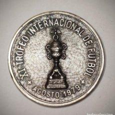 Coleccionismo deportivo: MEDALLA DEL XI TROFEO INTERNACIONAL DE FUTBOL CIUDAD DE PALMA DE MALLORCA 1979 - RARA. Lote 221450458