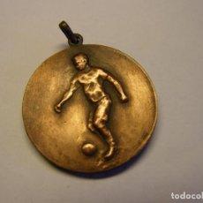 Coleccionismo deportivo: MEDALLA ANTIGUA DE FUTBOL, PALAFRUGELL, AÑO 1914. FABRICADA POR VALLMITJANA.. Lote 221450847