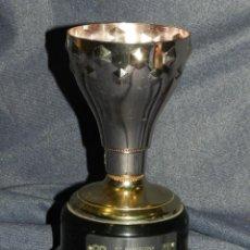 Coleccionismo deportivo: (M) TROFEO ORIGINAL PLATA COPA CAMPEONATO NACIONAL DE LIGA 1 DIVISION TEMP. 1984 - 1985 FC BARCELONA. Lote 221686533