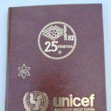 Coleccionismo deportivo: UNICEF MONEDAS MUNDIAL ESPAÑA 82. Lote 222792693