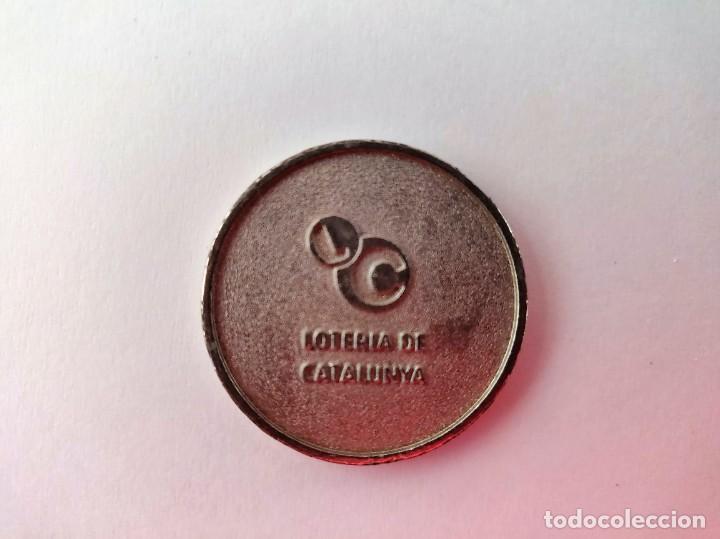 Coleccionismo deportivo: Moneda Loteria - Foto 2 - 235865555