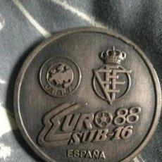 Coleccionismo deportivo: ANTIGUA MONEDA VI TORNEO EUROPEO - EUROCOPA 88 SUB16 AFE. Lote 236129120
