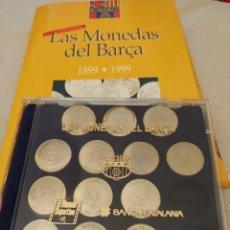 Coleccionismo deportivo: COLECCIÓN MONEDAS FC BARCELONA - INCOMPLETA. Lote 237583840
