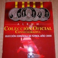 Collezionismo sportivo: ÁLBUM COLECCIÓN OFICIAL MONEDAS CONMEMORATIVAS SELECCIÓN ESPAÑOLA. Lote 243241250