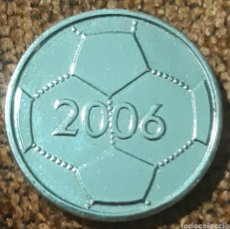 Coleccionismo deportivo: MONEDA TOKEN SC PREUBEN 06 E.V MÜNSTER 100 JAHRE BALÓN FUTBOL 2006. Lote 246611800