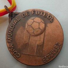 Collezionismo sportivo: MEDALLA PARTICIPANTE ESPAÑA 82' CEREMONIA INAGURAL MUNDIAL FUTBOL BARCELONA. Lote 248767280