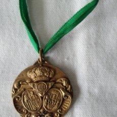 Colecionismo desportivo: ANTIGUA MEDALLA BODAS DE ORO REAL BETIS 1908 * 1958. Lote 252046090