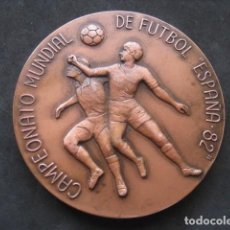 Collectionnisme sportif: GRAN MEDALLA BRONCE. CAMPEONATO MUNDIAL DE FUTBOL ESPAÑA 82. EXPOFIL. Lote 253324350