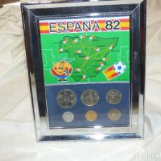 Coleccionismo deportivo: MONEDAS,ESPAÑA 82.. Lote 257496200
